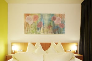 Kunst im Dolce Vita Hotel Lindenhof