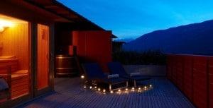 Romantik Urlaub in Südtirol: Schlafen unter freiem Sternenhimmel