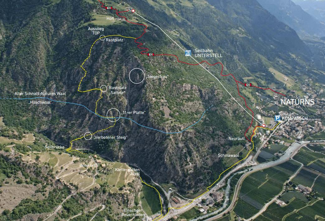 Klettersteigset Platte : Der abenteuerliche klettersteig u201ehoachwoolu201c in naturns hotel