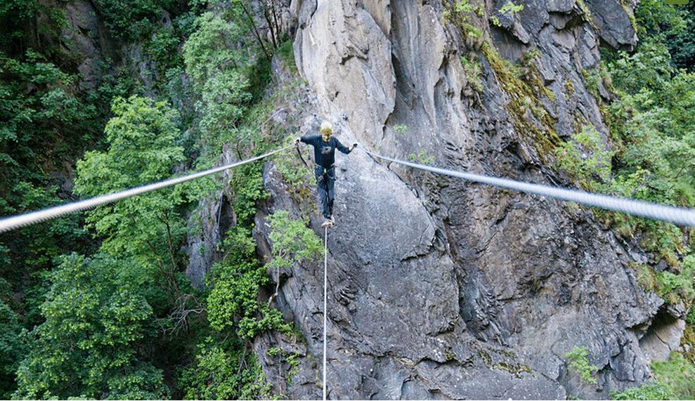 Klettersteig Hoachwool : Der abenteuerliche klettersteig u201ehoachwoolu201c in naturns hotel