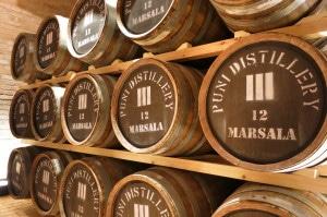 Whisky-Fässer