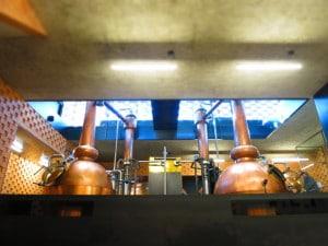 Brennblasen der PUNI- Destilleire