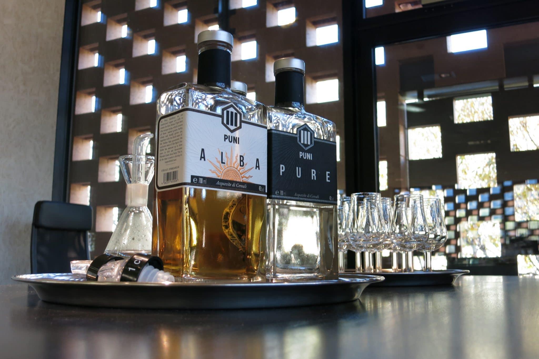 Der erste Whisky der PUNI- Destillerie