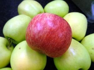Qualitätsprodukte Apfel