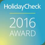 Holidaycheck Award 2016