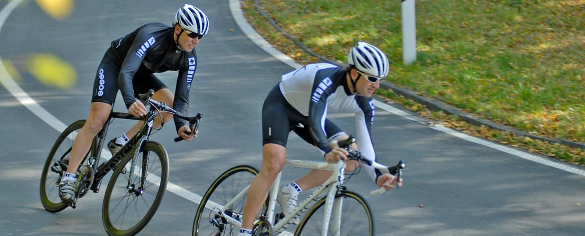 Rennradfahren durch Vinschgau