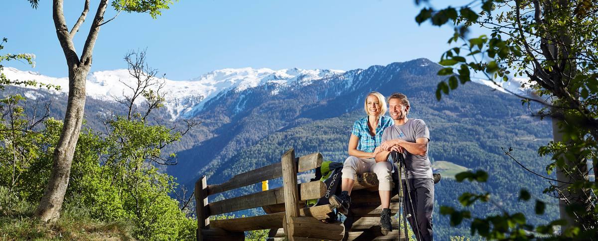 Bergwandern in Südtirol vom Hotel Lindenhof aus