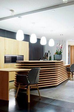 Der stilvolle Artspa im Wellnessbereich des Lifestyle Wellnesshotel Lindenhof