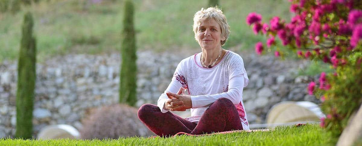 Yoga-Lehrerin Monika Chitra Pedross