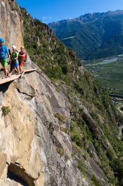 Klettersteig Naturns