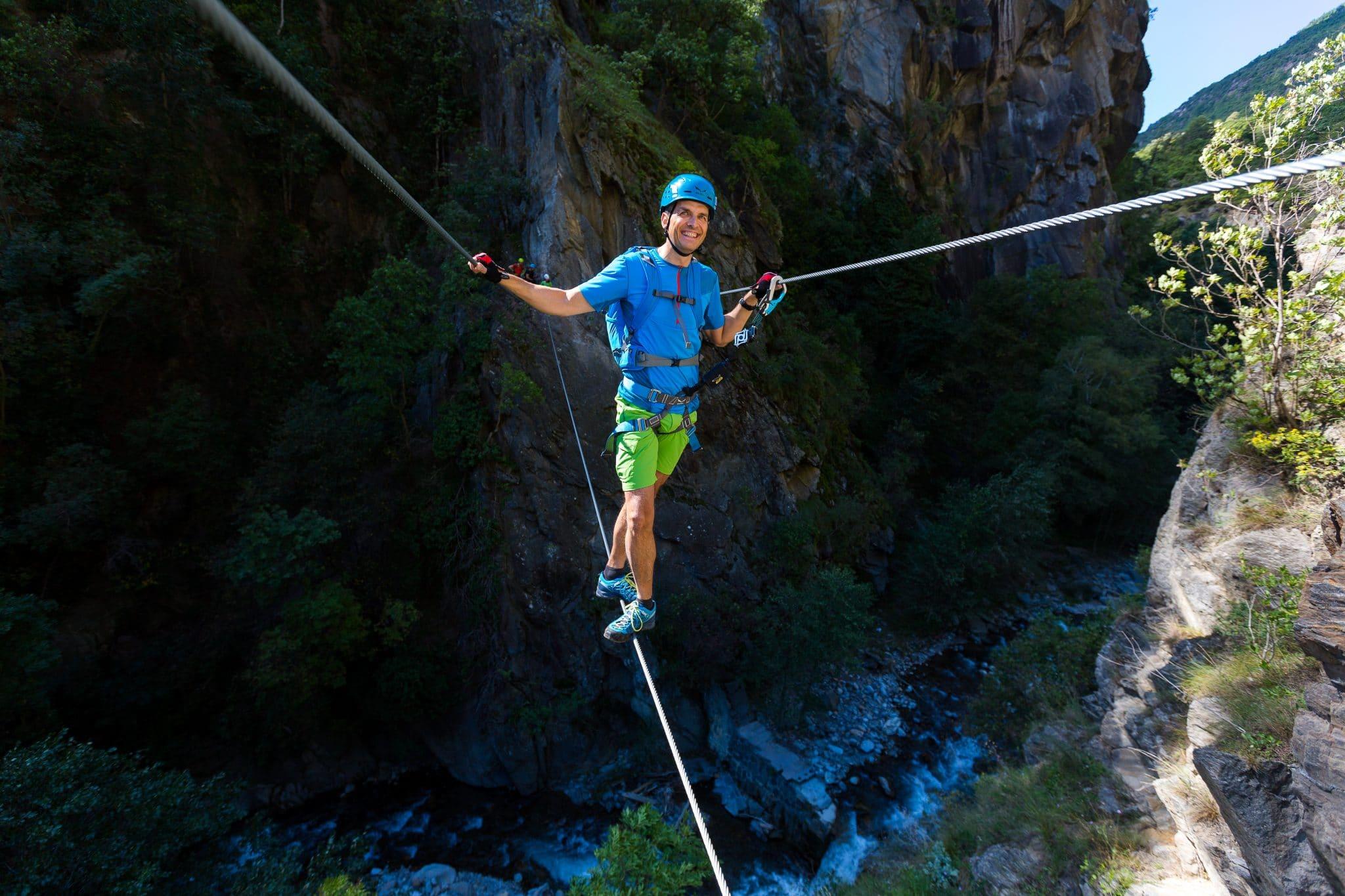 Kletterausrüstung Naturns : Ein klettersteig der es in sich hat dolcevita resort lindenhof****s