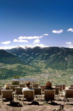 Grandiose Aussicht im Urlaub in Südtirol