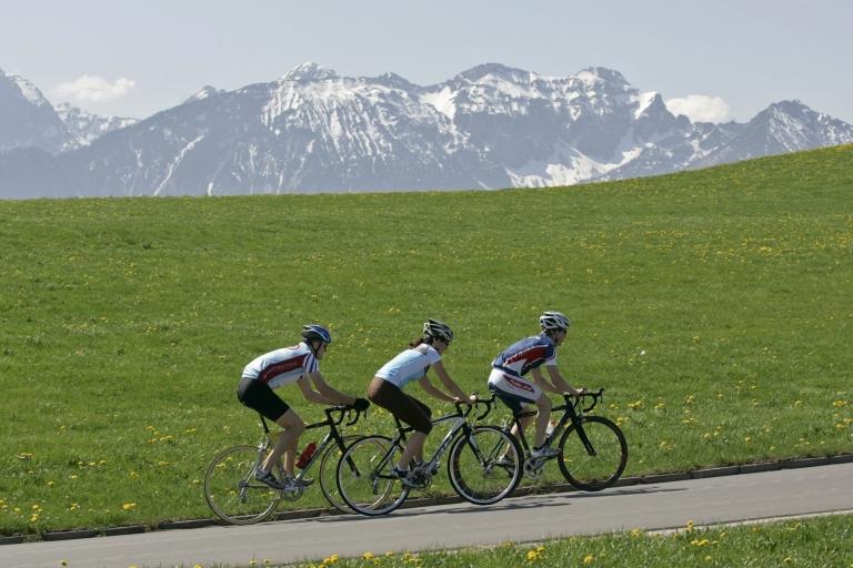 Mit dem Rennrad durchs Tannheimer Tal