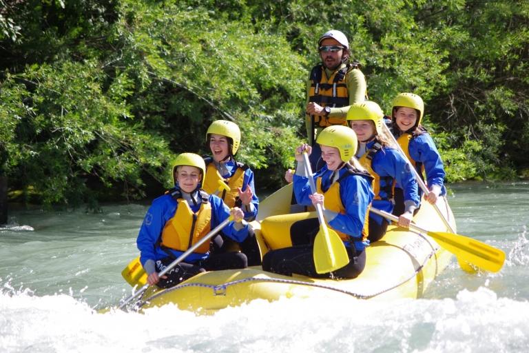 Wildwasserrafting Jugendprogramm im Hotel Lindenhof in Südtirol
