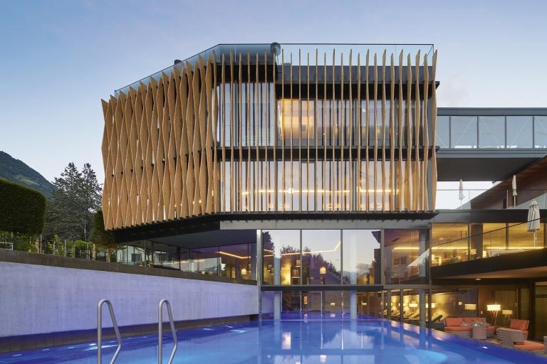 Außenansicht Lindenhof - Designhotel