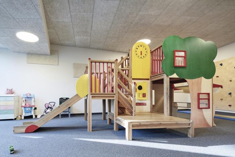 Indoor-Spielplatz für Kinder im Wellnesshotel