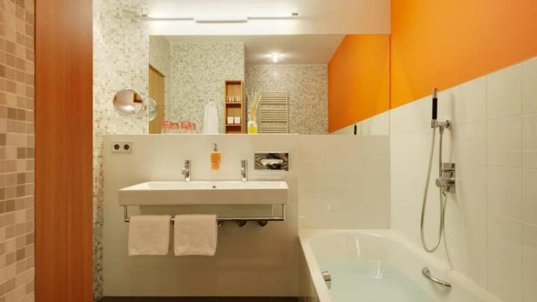 Lindenzimmer - Badezimmer im Lindehof