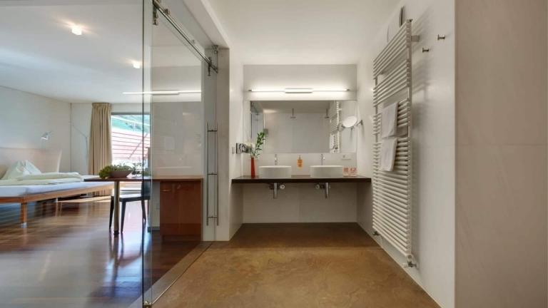 Doppelzimmer Relax Badezimmer - Lindenhof