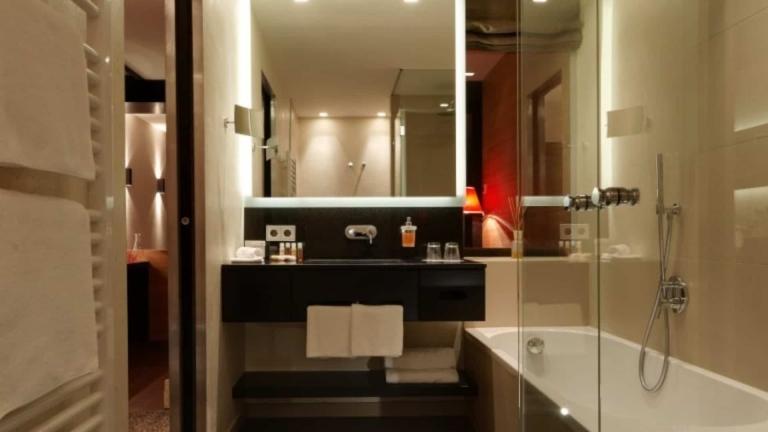 Badezimmer Südsuite im Lindenhof