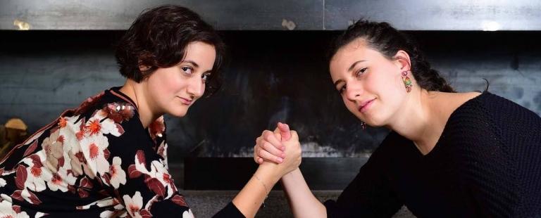 Chiara und Emma Nischler - Töchter Lindenhof