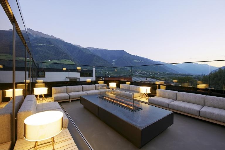 Dachterrasse Lounge Bereich Lindenhof
