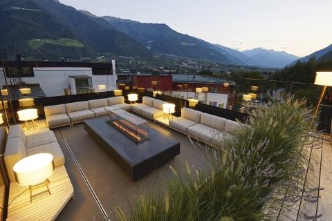 Dachterrasse Lounge