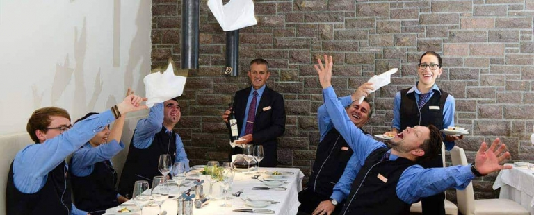 Das Lindenhof-Service-Team - DolceVita Urlaub in Meran