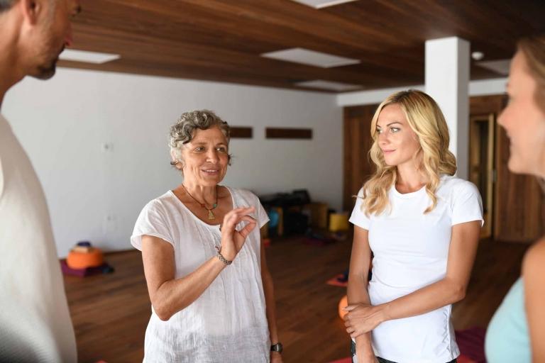 Monika Chitra Pedross - Yogalehrerin im Lindenhof
