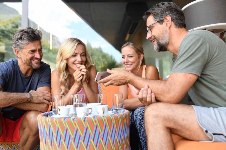 Naturns entdecken mit Freunden - Urlaub im Lindenhof