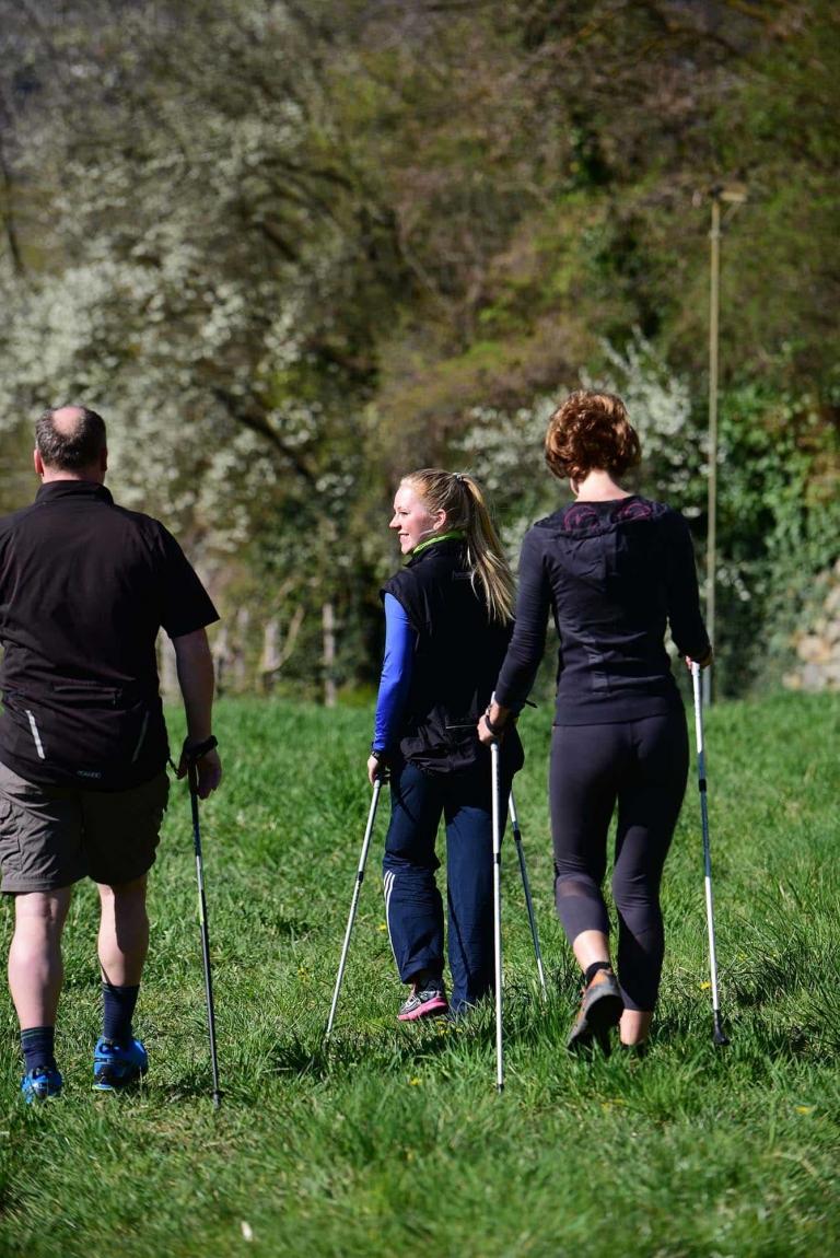 Urlaub im Lindenhof mit Nordic Walking
