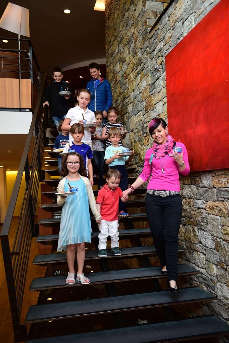 Kinder- und Jugendliche im Familienhotel Lindenhof