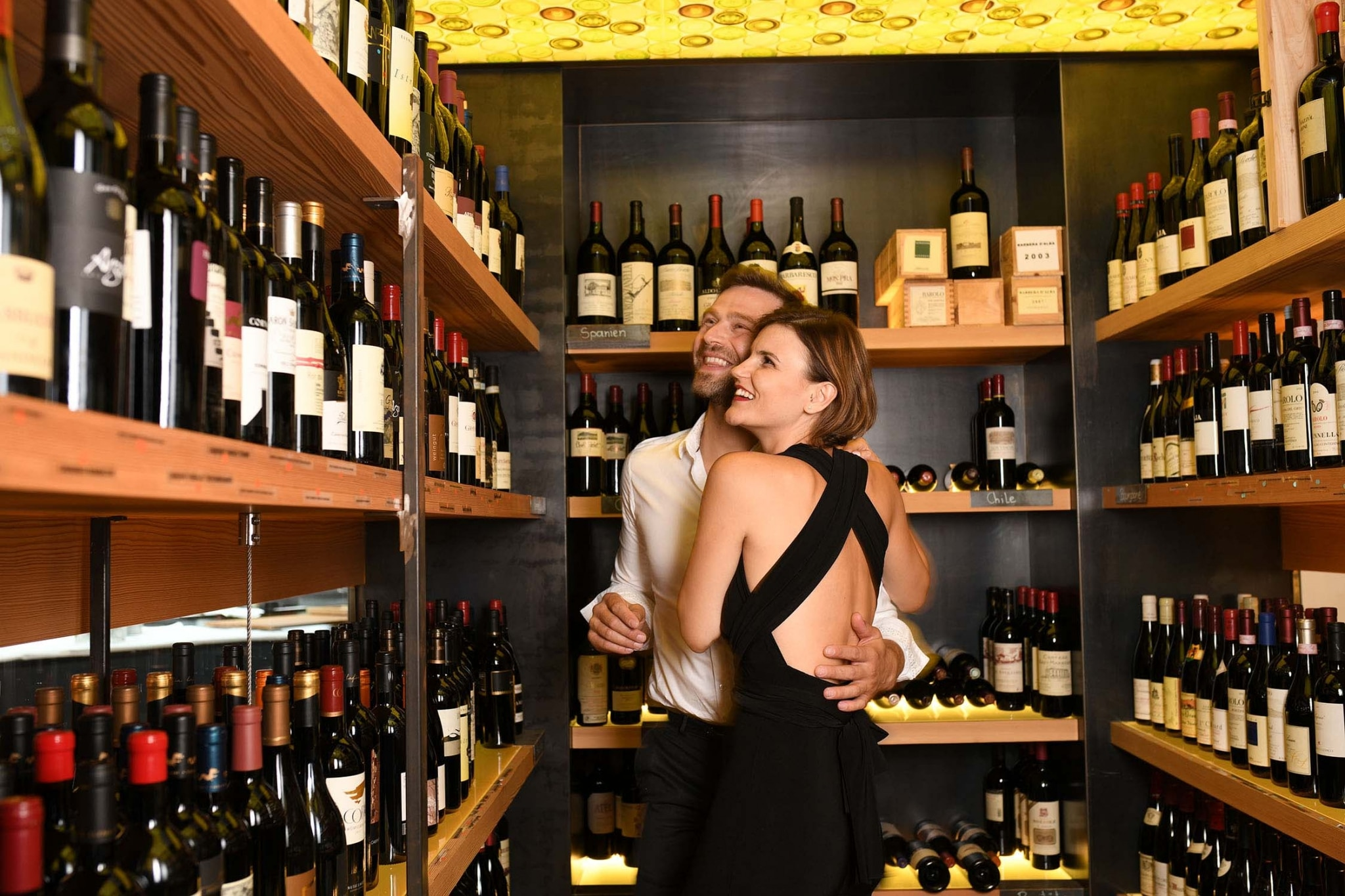 Stöbern im Weinkeller des Lindenhofs