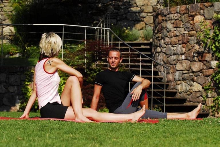 Fitnesstraining und Yoga im Urlaub
