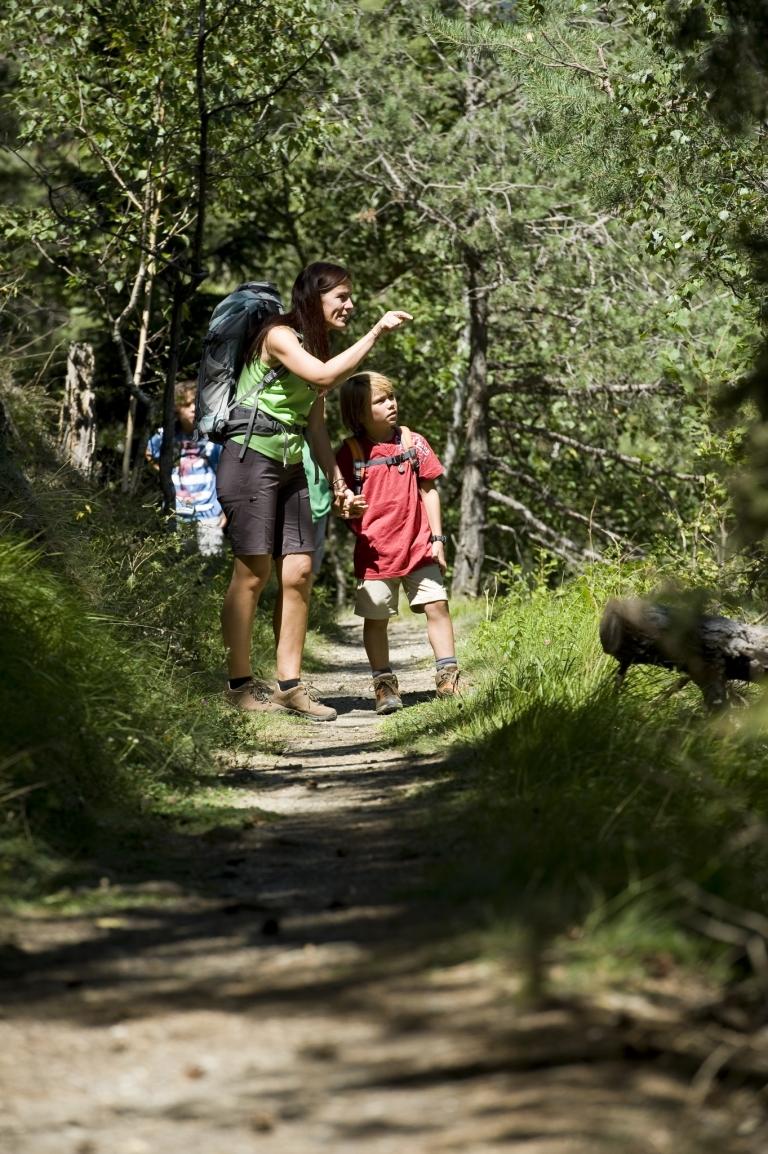 Familienwandern Gsinboden in Naturns