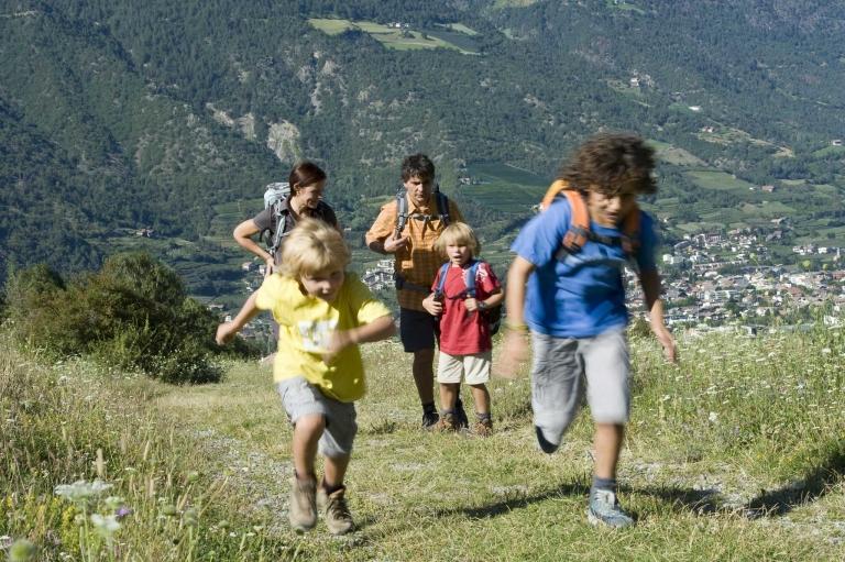 Naturns Familienwandern Gsinboden