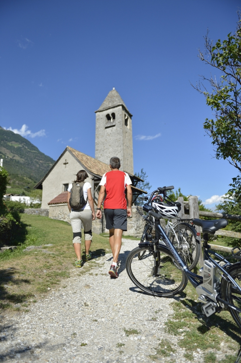 Naturns E-Bike - Prokulus Kirche