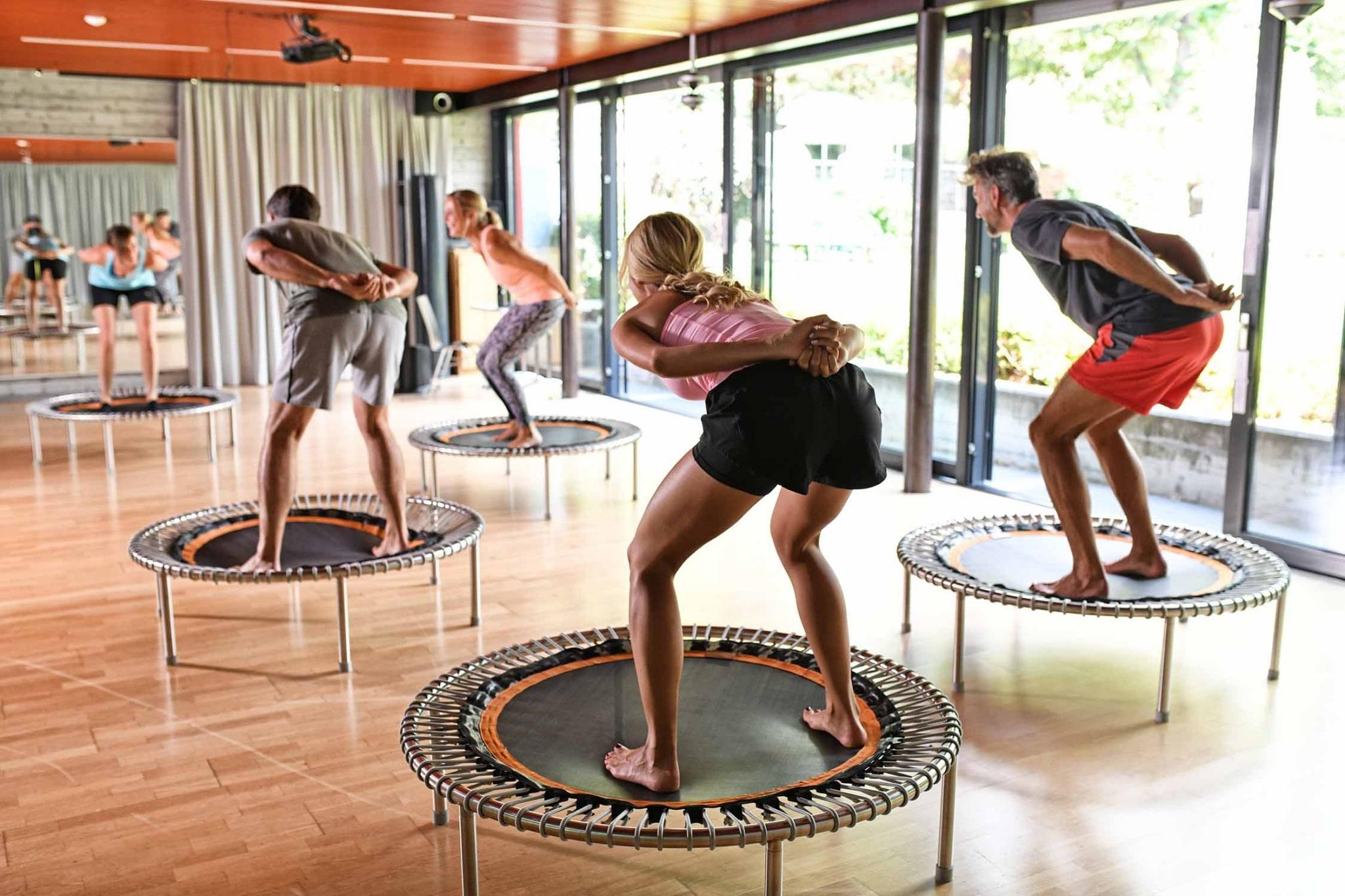 Fitnesstraining im Lindenhof