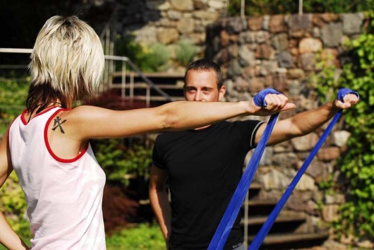 fitness draussen