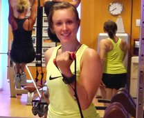 Fitness-Trainerin Sigrid Mair
