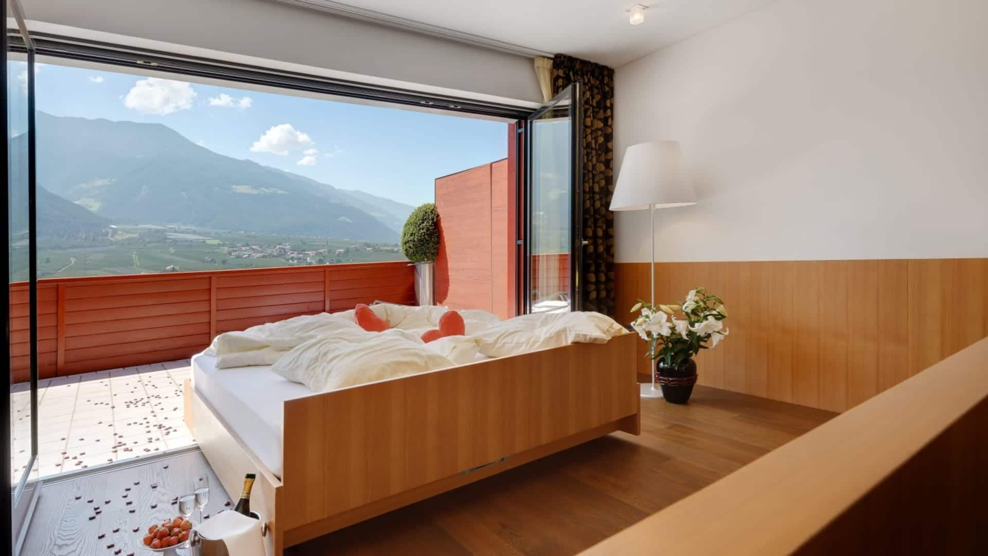 Honeymoon-Suite mit Ausblick