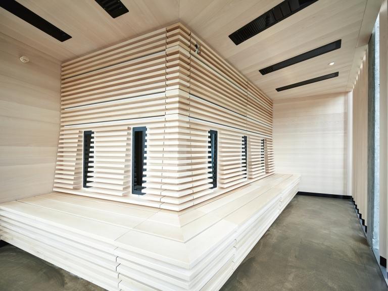 Infrarot-Sauna im Lindenhof