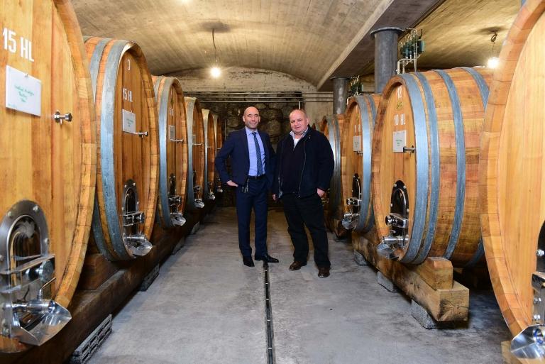 Joachim Nischler und Peter Dipoli - Winzer Wein