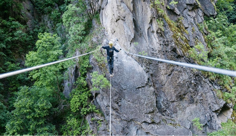 Klettersteig Hoachwool
