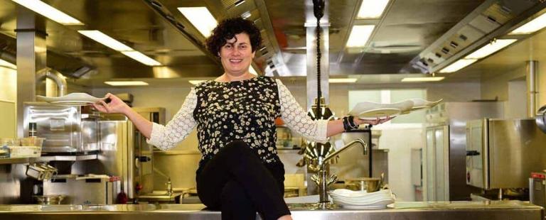 Lorella Longhitano in der Küche