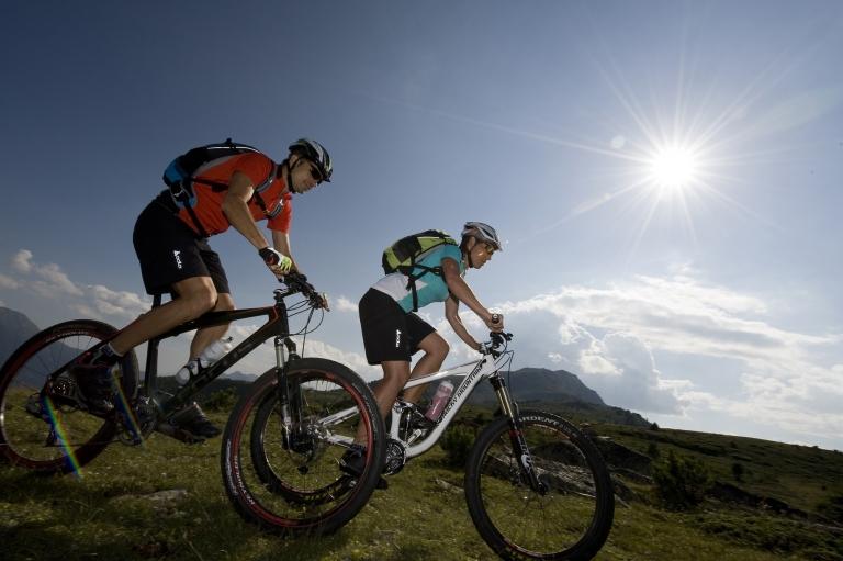 Naturns Mountainbike Naturnseralm - Urlaub im Lindenhof