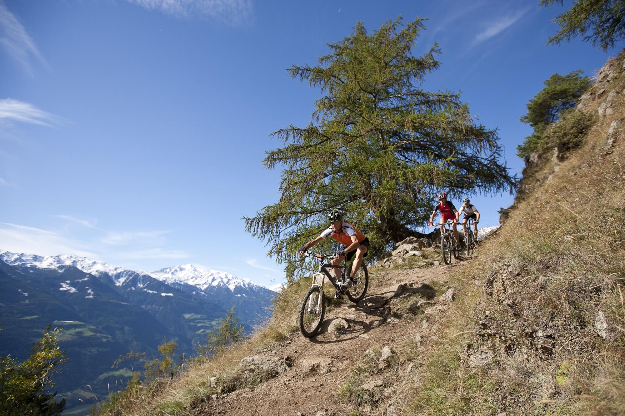 Mountainbiken im Urlaub