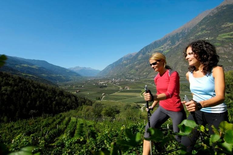 Nordic Walking - Urlaub im Lindenhof
