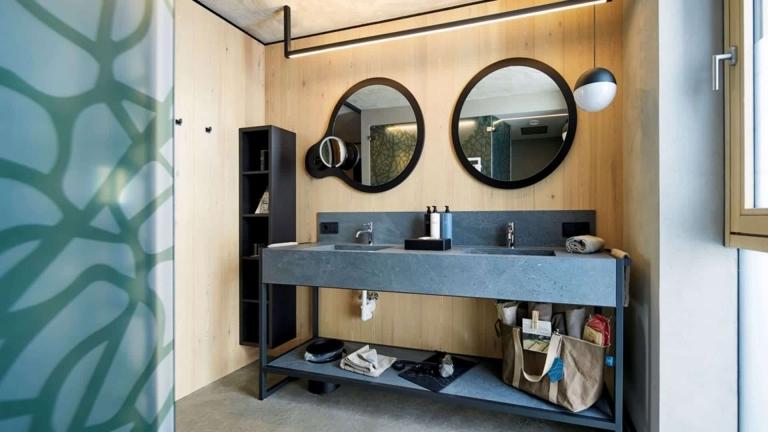 Badezimmer in der Pure Suite