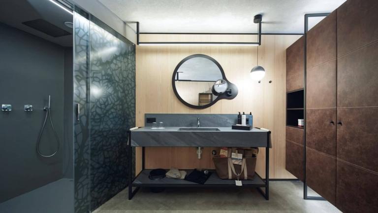 Doppelzimmer Pur - Badezimmer
