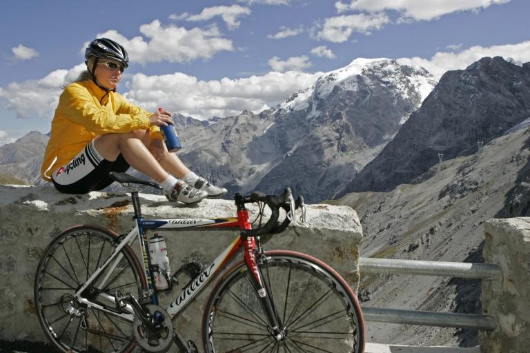Aussicht genießen - Radtour in Südtirol